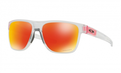 Lunettes Oakley Crossrange XL Crystal Pop / Matte Clear / Prizm Ruby / Ref. OO9360-2058