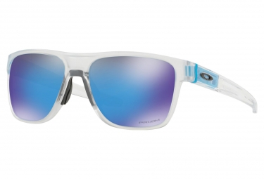 Gafas Oakley Crossrange XL white blue Prizm Black
