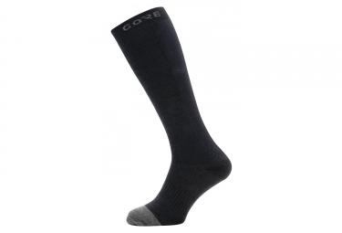 Chaussettes Hautes Gore M Thermo Noir