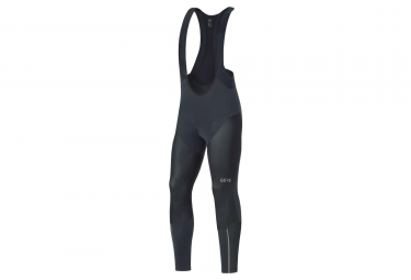 Gore C7 Partial Gore Windstopper Pro Bib Tights+ Black