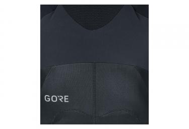 Cuissard Long Gore C7 Partial Gore Winstopper Pro Noir Jaune