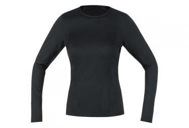 Sous-maillot Femme Gore M Thermo Noir
