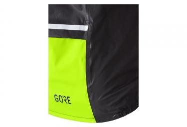 Veste Imperméable Thermique Gore C5 Gore-Tex Shakedry 1985 Insulated Noir Jaune