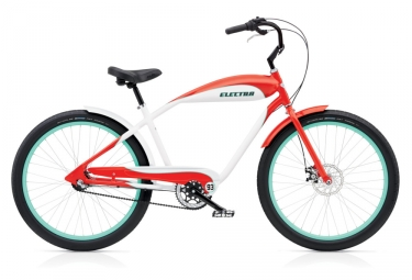 Electra EBC93 3i Beach Cruiser 2019 26'' Red / White