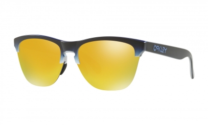 Lunettes Oakley Frogskins Lite Splatterfade Collection / Black Pink / 24k Iridium / Ref. OO9374-1763