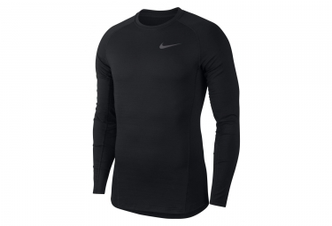 Nike Pro Top Long Sleeves Jersey Black White