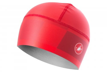 Sous casque castelli arrivo 3 thermo rouge