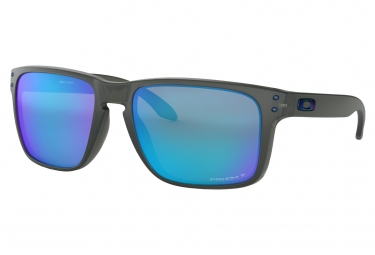 Lunettes oakley holbrook xl prizm sapphire polarized collection gray smoke prizm sap
