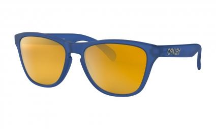 Oakley Sunglasses Frogskins XS Youth Matte Sapphire / 24k Iridium / Ref. OJ9006-0453