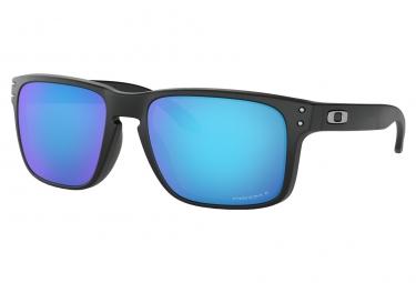 Oakley Sunglasses Holbrook Matte Black / Prizm Sapphire Polarized / Ref. OO9102-F055