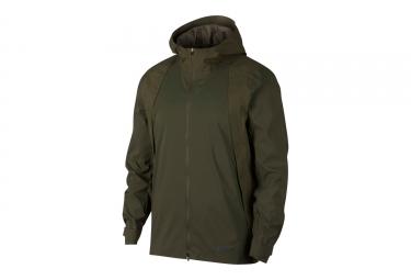 Nike Zonal AeroShield Water-Repellent Jacket Green Khaki