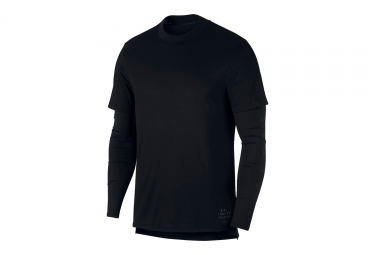 Maillot Manches Longues Nike Rise 365 Noir