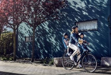 Porte-Bébé sur Porte-Bagages Thule Yepp Maxi EasyFit Noir