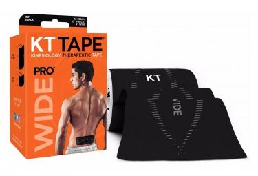 KT TAPE Roll precut tape PRO Wide Black 10 tapes