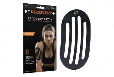 Bande prédécoupée KT TAPE Recovery Noir 4 Patchs
