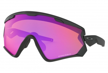 Oakley Sunglasses Wind Jacket 2.0 Matte Black / Prizm Trail / Ref. OO9418-1145