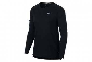 Maillot Manches Longues Femme Nike Tailwind Noir
