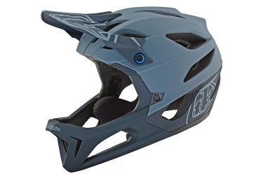 Casque Intégral Troy Lee Designs Stage Stealth Gris Mat