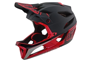 Casco Integral Troy Lee Designs Stage Race Noir / Rouge