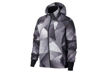 Nike Shield Women's Water-Repellent Jacket Grey