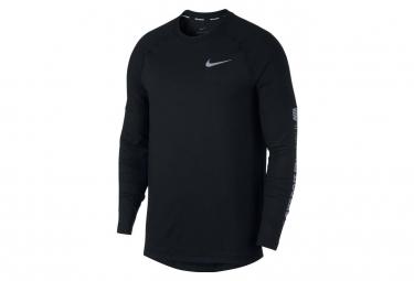 Maillot Manches Longues Nike Element Noir