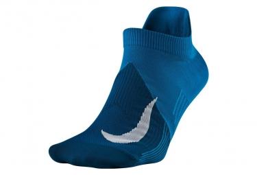 Paire de chausettes nike elite lightweight no show bleu unisex 44 45