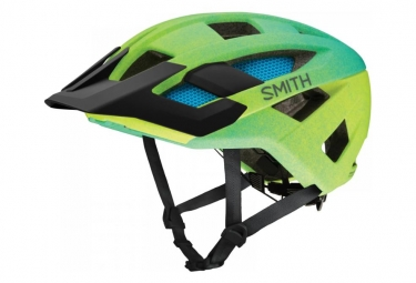 Casque vtt smith rover acid jaune vert m l 55 59 cm