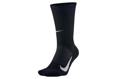 Nike Elite Merino Cushioned Crew Socks Black