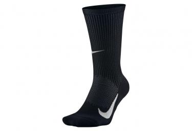 Paire de Chaussettes Nike Elite Merino Cushioned Crew Noir Unisex
