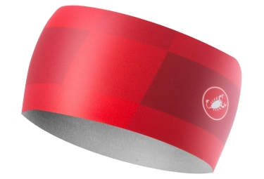 Castelli Arrivo 3 Thermo Headband Red