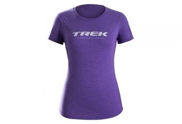 T-Shirt Femme Trek Waterloo Violet