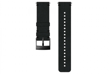 Suunto Urban 2 Leather Wristband 24 mm Black