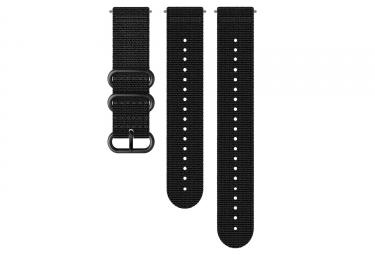 Suunto Explore 2 Textil-Armband 24 mm Schwarz