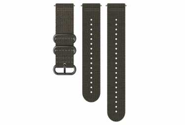 Bracelet textile suunto explore 2 24 mm kaki