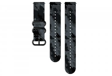 Suunto Explore 2 Textile Wristband 24 mm Camo Concrete Black