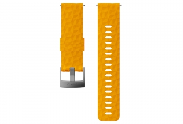 Suunto Explore 1 Silicone Wristband 24 mm Amber Yellow