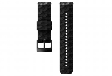 Suunto Explore 1 Silicone Wristband 24 mm All Black (Triangle)