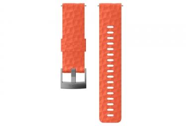 Suunto Explore 1 Silicone Wristband 24 mm Coral