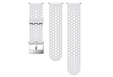 Suunto Athletic 1 Silicone Wristband 24 mm White