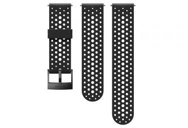 Suunto Athletic 1 Silicone Wristband 24 mm Black