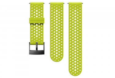 Suunto Athletic 1 Silicone Wristband 24 mm Lime Green