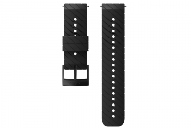 Suunto Athletic 3 Silicone Wristband 24 mm Black