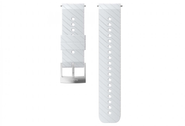 Suunto Athletic 3 Silicone Wristband 24 mm White