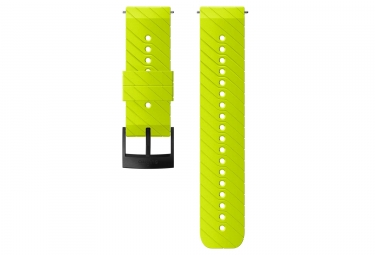 Suunto Athletic 3 Silicone Wristband 24 mm Lime Green