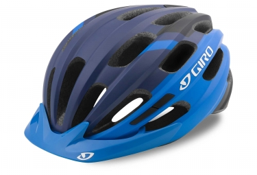 Casque giro register mat bleu 54 61 cm