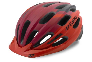 Casque giro register mat rouge 54 61 cm