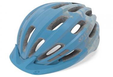 Casque giro vasona bleu glac floral 50 57 cm