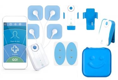 Pack BLUETENS Electrostimulateur + Aufbewahrungskoffer + Gürtelclip