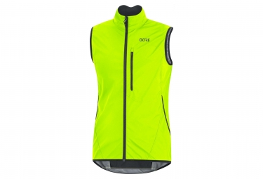 Veste sans manche Gore C3 Gore Windstopper Light Jaune