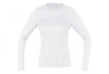 Gore M Base Layer Thermo Women's Long Sleeve Shirt White